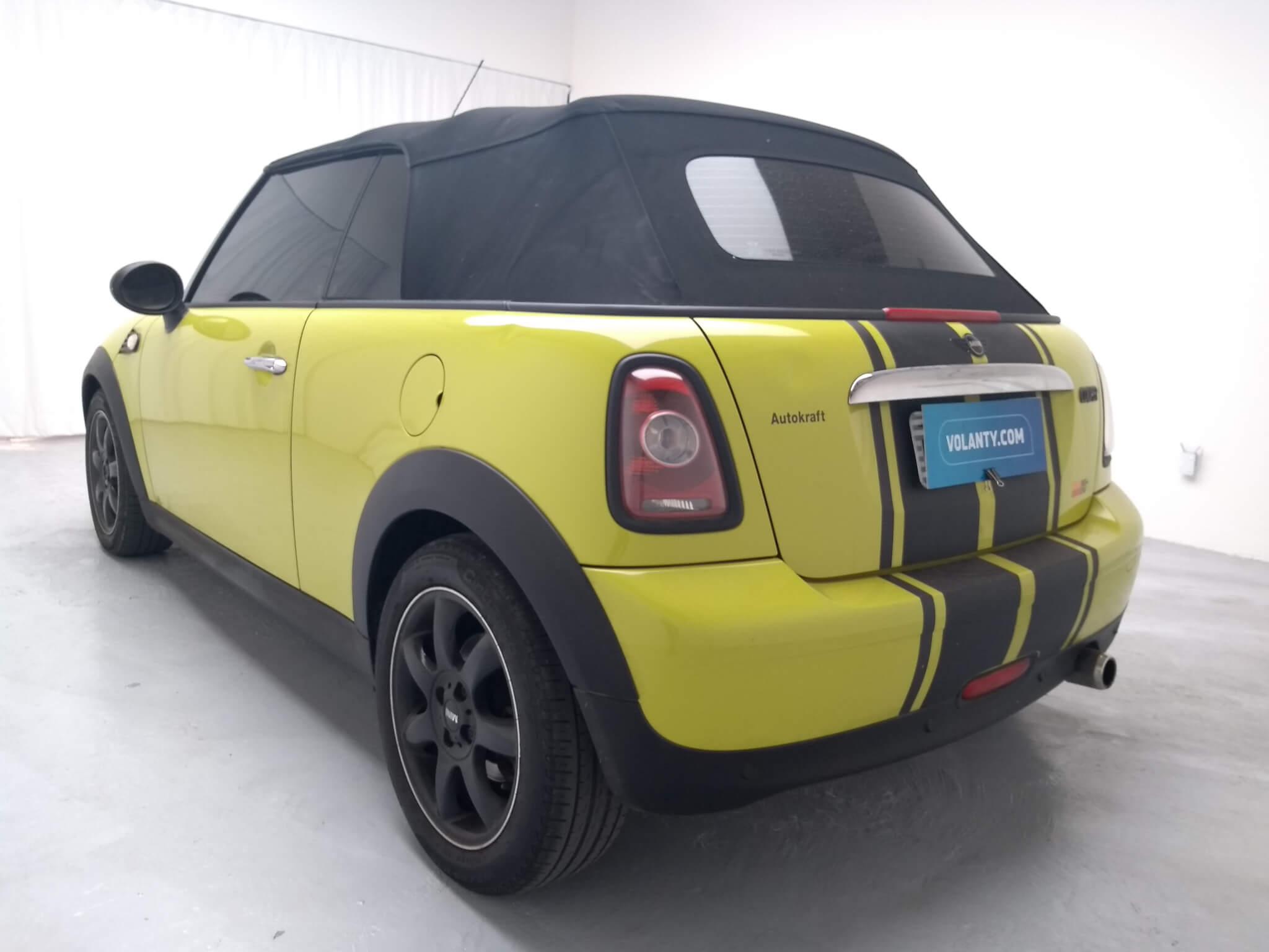 Mini Cooper 1 6 Cabrio 16v Automatico 2010 Amarelo Com 60 403km Em Rj Volanty